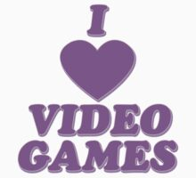 I love video games Baby Tee