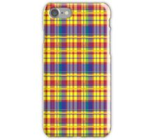 Plaid No. 11 iPhone Case/Skin
