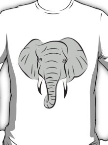 Elephant Head T-Shirt
