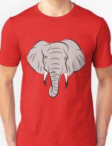 Elephant Head T-Shirt