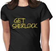 Get Sherlock Womens Fitted T-Shirt