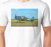 Grumman F6F-5K Hellcat 80141 G-BTCC out to grass Unisex T-Shirt