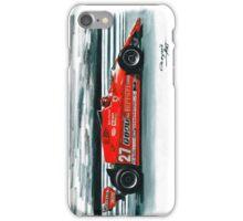 1981  Ferrari 126CX iPhone Case/Skin