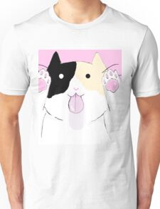 Calico licking your screen Unisex T-Shirt