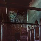 Back Wall Mosaic C13 S Maria Assunta 639 Torcello Venice Italy 19840730 0034  by Fred Mitchell