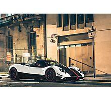 Pagani Zonda Cinque Roadster Photographic Print