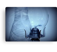 Oil Lamp & Shadows Canvas Print