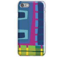 Geometric Pattern Block No. 11 iPhone Case/Skin