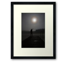 Touch The Moon Framed Print
