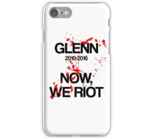 IN MEMORY - GLENN  iPhone Case/Skin