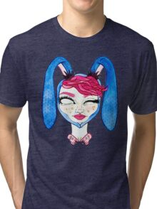 Usagi Alien Princess Tri-blend T-Shirt