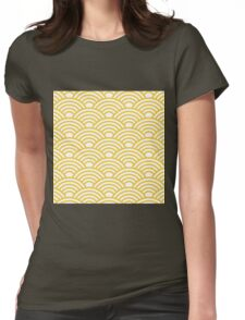 Modern,art deco, pattern,trendy,1920 era, chic,elegant,girly,vintage Womens Fitted T-Shirt