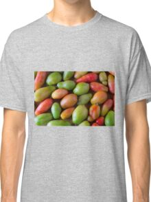 Colorful Roma Tomatoes Classic T-Shirt