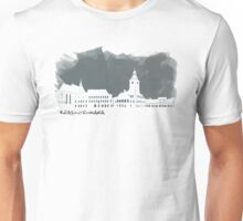 Brasov, Romania – Paintbrush Unisex T-Shirt