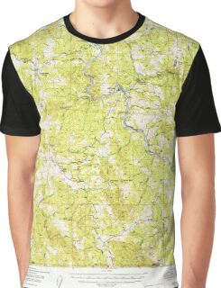 USGS TOPO Map California CA Alderpoint 296674 1951 62500 geo Graphic T-Shirt