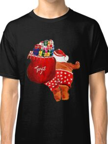 SANTA ON THE GO, HO, HO Classic T-Shirt
