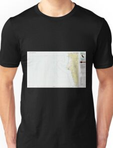 USGS TOPO Map California CA Crescent City 299068 1983 100000 geo Unisex T-Shirt