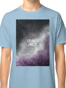 Space Ace Galaxy Print Classic T-Shirt
