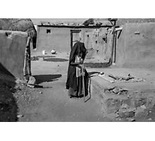 The woman from the desert Photographic Print