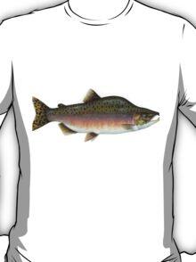 Salmon Artwork  T-Shirt