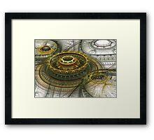 Alien dome Framed Print