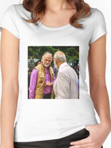 Guess who ... beards HRH Prince Michael of Kent Women's Fitted Scoop T-Shirt