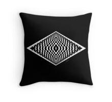 Black & White Fractal 101116 Throw Pillow