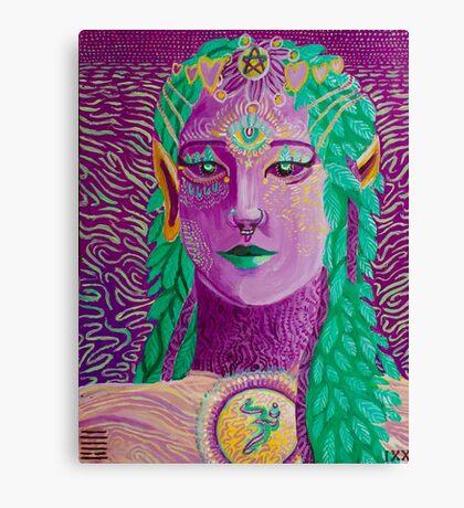 Fantasy Elf Canvas Print