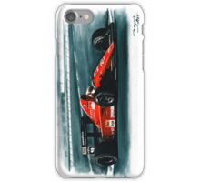 1991 Ferrari F1-91B iPhone Case/Skin