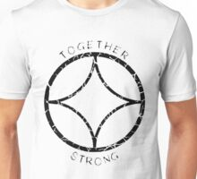 Together Strong (Black) Unisex T-Shirt