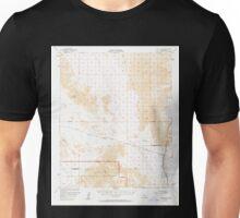 USGS TOPO Map California CA Cadiz Valley 296952 1956 62500 geo Unisex T-Shirt