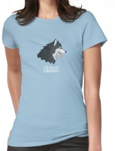 Game of Thrones - Stark (DOG version) Womens Fitted T-Shirt