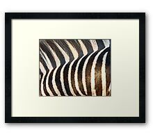 Stripes!! Framed Print