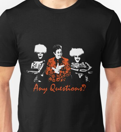 Any Questions? (David S. Pumpkin) Unisex T-Shirt