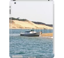 The Kid & the Pinnace - Bay of Arcachon, France. iPad Case/Skin