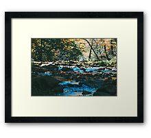 Blue Creek Framed Print