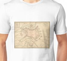 Vintage Map of Luxembourg (1686) Unisex T-Shirt