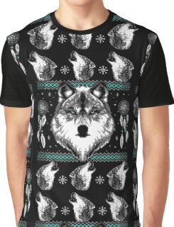 Merry Wolfmas Graphic T-Shirt