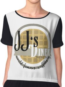 JJ's Diner - Parks and Recreation Chiffon Top
