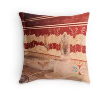 Knossos-Kings Chamber Throw Pillow