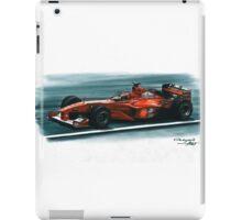 2000 Ferrari F1-2000 iPad Case/Skin