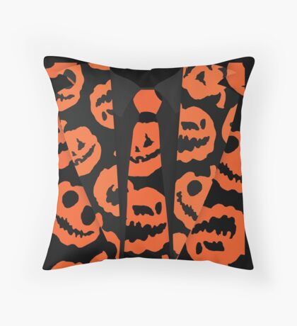 "DAVID PUMPKINS ""Tuxedo Shirt""  Throw Pillow"