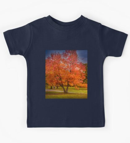 Autumn in New Hampshire Kids Tee