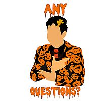 David Pumpkins-SNL Photographic Print