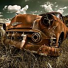Abandoned 1953 Chevy Belair by mal-photography
