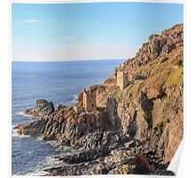 crown mines, botallack Poster