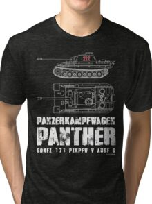PANTHER TANK Tri-blend T-Shirt