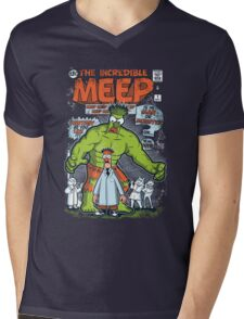 Incredible Meep Mens V-Neck T-Shirt