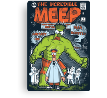 Incredible Meep Canvas Print