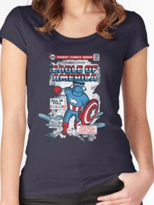 Eagle of America Women's Fitted Scoop T-Shirt